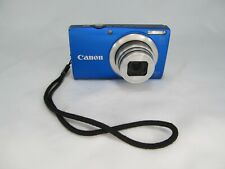 CANON POWERSHOT A4000 IS HD 16MP 8X ZOOM DIGITAL POINT & SHOOT CAMERA + CHARGERL