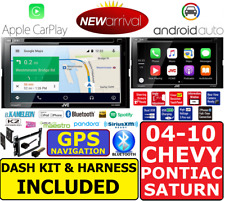 2004-10 CHEVY PONTIAC SATURN JVC NAVIGATION APPLE CARPLAY ANDROID AUTO CAR RADIO