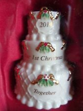 Lenox Our 1st Christmas Together 2014 Ornament New