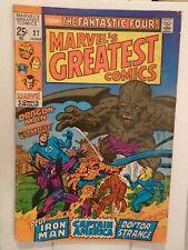 MARVEL'S GREATEST COMICS #27 (1969) Fantastic Four, Gray Gargoyle, Iron Man