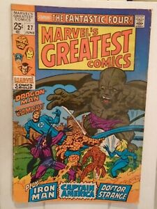 MARVEL'S GREATEST COMICS #27 (1969) Fantastic Four, Gray Gargoyle, Iron Man