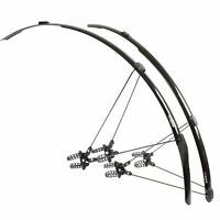 Zefal Shield R30 Road  Racing Bike Mudguards Set Black Bicycle Front + Rear