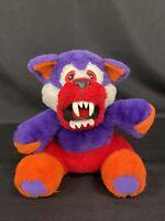 "Hasbro Beasty Bear 1991 Transforming Plush Stuffed Animal Tonka Toy Monster 9"""