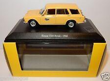 UH UNIVERSAL HOBBIES SIMCA 1300 BREAK 1966 POSTES POSTE PTT 1/43 IN LUXE BOX
