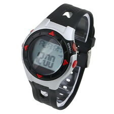 Waterproof Pulse Heart Rate Monitor Stop Watch Calories Counter Sports EW