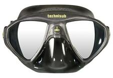 AquaLung Micromask - Black/Black Silicone Mask