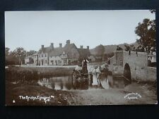 More details for kent eynsford the bridge & local water cart -  old rp postcard by r. gee