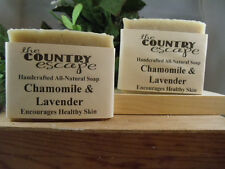 Chamomile & Lavender Soap- Handcrafted - Natural - Organic - Vegan - Homemade