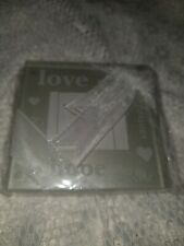 New listing Good Wishes Pearlized Glass Photo Coasters Gift Set Wedding Favors 2-pk