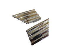 NEW 1942-48 Ford tail light housing trim stainless (pair)   21A-13476-A