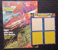 1978 May 27 STAR LORD #3 UK Weekly IPC Magazine VF Strontium Dog w/ Game