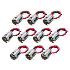 10Pcs 1157 BAY15D S25 Light Harness Wire LED Bulb Socket Brake Plug connector