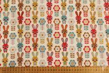 Telas y tejidos color principal multicolor de flores