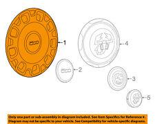 FIAT OEM 12-17 500 Wheel Cover-Hub Center Cap 68078420AC