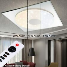 LED 18W Decken Lampe Fernbedienung Sternen Himmel Leuchte Tages-Licht DIMMBAR