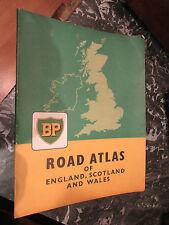 ancien atlas routier road atlas england scotland wales BP vers 1960