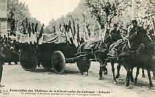 TOULON Funérailles victimes Catastrophe Cuirassé Liberté Prolonge d'Artillerie