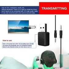 USB Bluetooth-compatible Receiver Transmitters 5.0 Wireless 3.5mm Audio Music