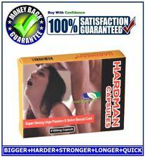 HARDMAN SEX CAPSULES / PILLS FOR MEN-HARDER, BIGGER&LONGER PLEASURE(6 CAPSULES)