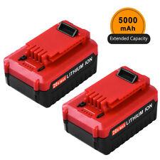 20V 5000mAh Lithium-Ion Battery MAX For Porter Cable PCC685L PCC680L PCC682L 2PC