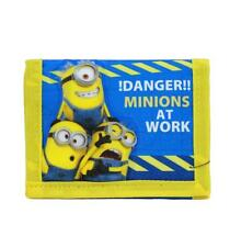 Despicable Me Minions Trifold Wallet Newest Style Licensed by Disney Blue