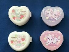 Onigiri Rice Ball Case Maker Heart Shape Rabbit Cat 2pcs Set Lunch box  BENTO