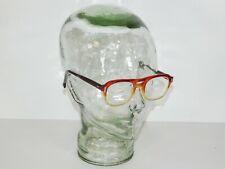 Vintage American Optical Safety Glasses Flexi-Fit 6M Z87 Fire Frame Retro Modern