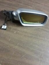 01 Audi A4 Right Passenger Side View Door Power Mirror Silver OEM