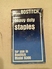 BOSTITCH heavy duty Staples for use in Model B300