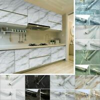 Waterproof Marble Contact Paper Kitchen Self Adhesive Vinyl Roll Wallpaper