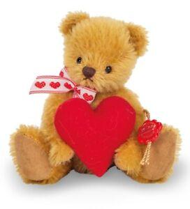teddy bear with heart by teddy Hermann - limited edition - 15608