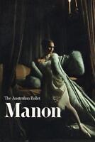AVANT CARD ADVERTISING POSTCARD - AUSTRALIAN BALLET MANON POSTCARD - UNUSED