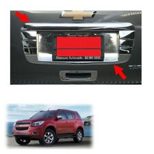 License Plate Liftgate Cover Chrome Fits Chevrolet Holden Trailblazer 2012 2015