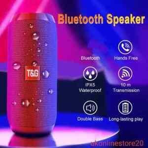 Portable Bluetooth Speaker Wireless Bass Waterproof USB Mini Speakers Subwoofer