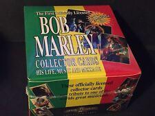 Bob Marley Music Collector Trading Card 36 Unopened PACKS 1995 sealed Box