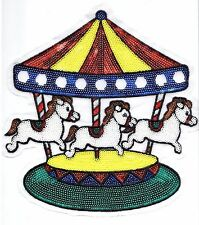 Sequin Patch: Merry-Go-Round