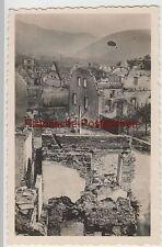 (F4042) Orig. Foto zerstörte Stadt in Frankreich 1939-40