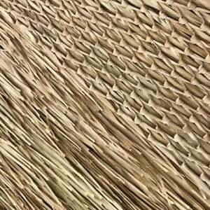 "Mexican Thatch 30"" X 8 FT Tiki PALM GRASS MAT ROLL BEST ON THE MARKET"