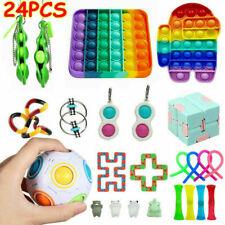 24 Pack Fidget Toys Set Sensory Tools Bundle Stress Relief Hand Toys Kids Gift