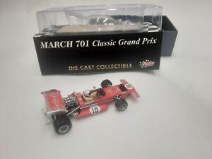 F1 MARCH 701 STP 1/43 QUARTZO