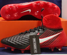 Nike Magista Orden II 2 FG Black White Red Cleats SZ US 10 ( 843812-061 )