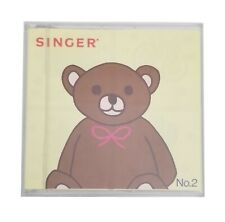 Singer Embroidery Design Card No. 2 / Used