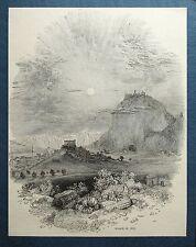 KORINTH Korinthos GRIECHENLAND Ellada. Orig. Holzstich 1888