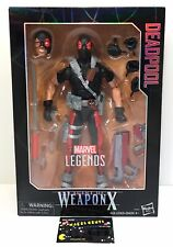 "Marvel Legends Series 12"" Deadpool Agent of Weapon X Hasbro - BRAND NEW In Box"