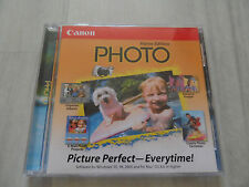 Vintage Canon Home Edition Photo Software (PC or Mac, 2000) Version 2.0