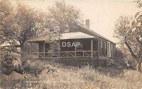B9/ East Hebron New Hampshire NH Real Photo RPPC Postcard 1923 Keswick Lodge