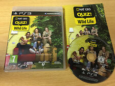 PS3 : nat geo quiz! wild life