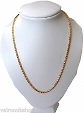 """SMART AND ELEGANT GOLD EP 18"""" NECKLACE IN GIFT BOX"""