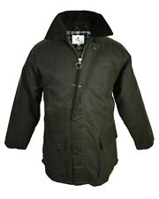 mens ladies, womens  Regents view country clothing padded wax jacket with hood