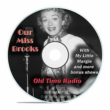 Our Miss Brooks, 971 Comedy Sitcom Old Time Radio Shows, OTR, DVD CD G06